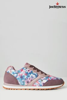 Joe Browns Purple Feeling Fantastic Trainers