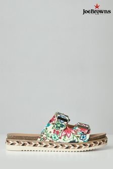 Joe Browns Multi Funky Platform Sliders
