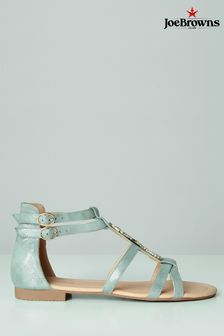 Joe Browns Blue Shimmer Seahorse Sandals