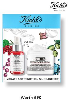 Kiehls Hydrate & Strengthen Skincare Set (worth £90)