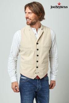 Joe Browns Cream Wonderful Workwear Waistcoat