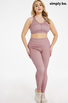 Simply Be Purple Active Legging