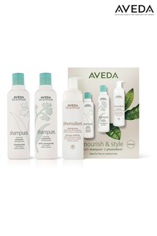 Aveda Nourish & Style Set With Shampure & Phomollient (worth £55)