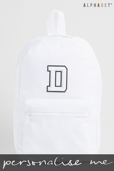 Personalised Kids Monogrammed Back Pack by Alphabet