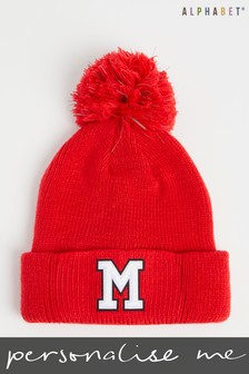Personalised Kids Monogrammed Bobble Hat by Alphabet