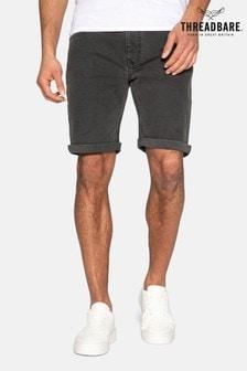 Threadbare Grey Bossa Denim Shorts