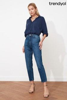 Trendyol Indigo Mom Jeans