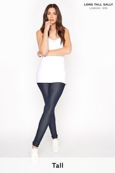 Long Tall Sally Blue Jersey Jeggings