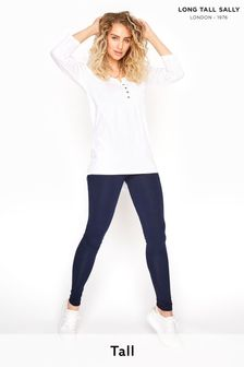 Long Tall Sally Blue Cotton Leggings