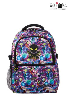 Smiggle Space Galaxy Attach Backpack