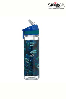 Smiggle Blue Dinosaur Galaxy Drink Bottle