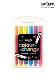 Smiggle Pink Colour Change Marker Pack x12