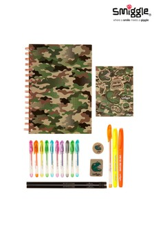 Smiggle Green Essentials A5 Stationery Kit