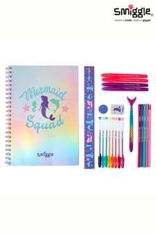 Smiggle Purple Mermaid Fashion Stationery Kit