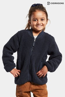 Didriksons Kids Blue Ohlin 4 Fullzip Fleece