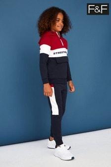 F&F Black Streetwear 98 Joggers