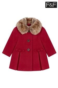 F&F Red Coat