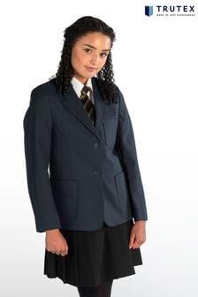 Trutex Girls Blue School Blazer