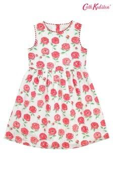 Cath Kidston Cream Dahlia Charlotte Dress