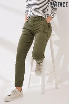 FatFace Green Ella Utility Trousers