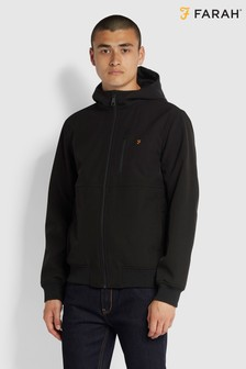 Farah Black Rudd Softshell Jacket