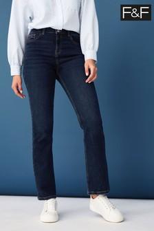 F&F Blue Bootcut Jeans