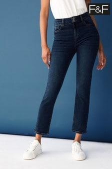 F&F Blue Slim Jeans