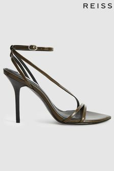 Reiss Adela Leather Strappy Sandals
