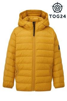 Tog 24 Kids Yellow Dowles Hooded Down Jacket