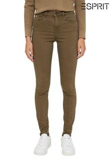 Esprit Wovens Green Pants