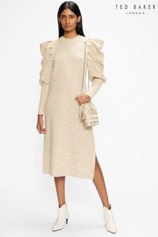 Ted Baker Marniaa Extreme Sleeve Knit Dress