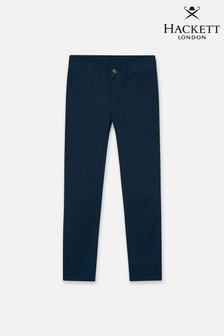 Hackett Boys Blue Classic Chino Trousers