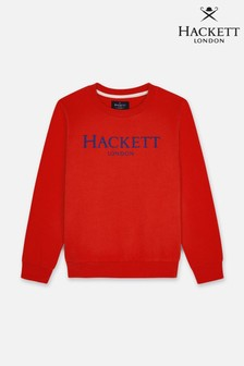 Hackett Logo Crew Sweatshirt