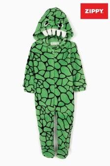 Zippy Baby Boys Green Croc All-In-One