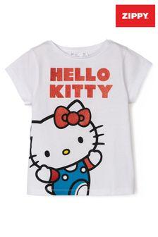 Zippy Girls White Hello Kitty T-Shirt