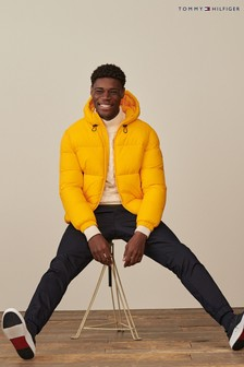Tommy Hilfiger Yellow High Loft Jacket