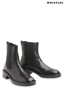 Whistles Rue Elasticated Chelsea Boots