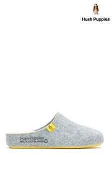 Hush Puppies Grey The Good Slippers