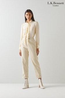 L.K.Bennett Savannah Cord Trousers