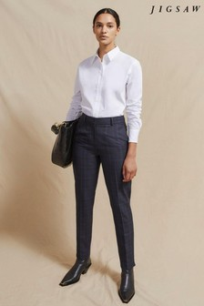 Jigsaw Paris Check Trousers