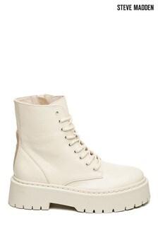 Steve Madden Cream Skylar Boots