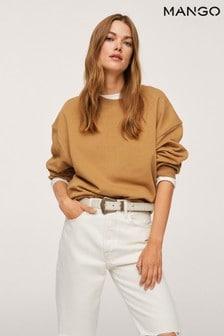 Mango 100% Cotton Sweatshirt