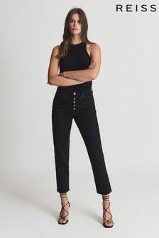 Reiss Bailey Mid Rise Slim Cut Jeans