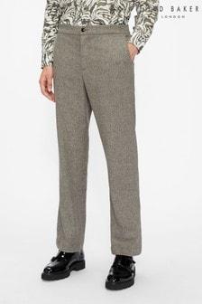 Ted Baker Shuttle Flannel Drawstring Trousers