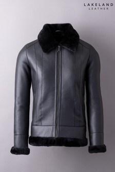 Lakeland Leather Cartmel Sheepskin Jacket In Black