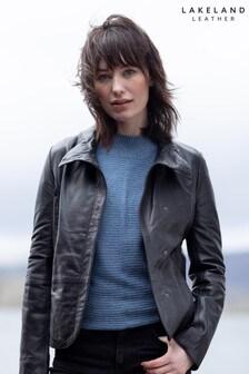 Lakeland Leather Karen Casual Leather Jacket In Black