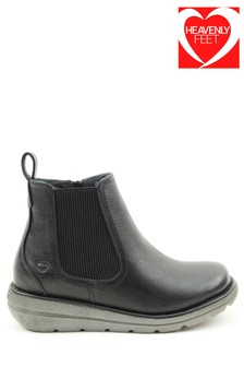 Heavenly Feet Ladies Style Rolo4 Ankle Boots