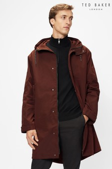 Ted Baker Purple Liftie Nylon Parka With Removable Lining Jacket