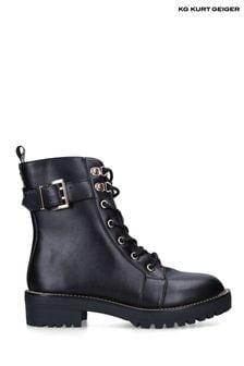 KG Kurt Geiger Black Vegan Taya2 Boots