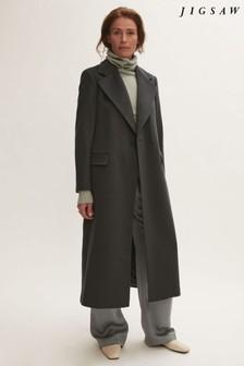 Jigsaw Grey Maxi City Coat